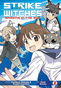 Strike Witches: Maidens in the Sky Manga Vol.   2