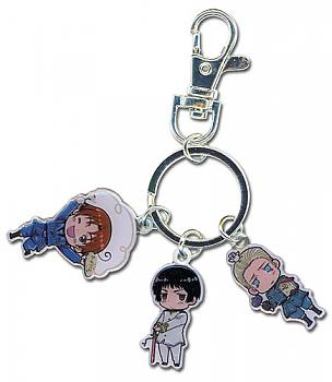 Hetalia Key Chain - Axis Italy, Japan, Germany