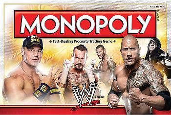 WWE Board Games - Monopoly Collector's Edition