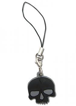 Black Rock Shooter Phone Charm - Dead Master Skull