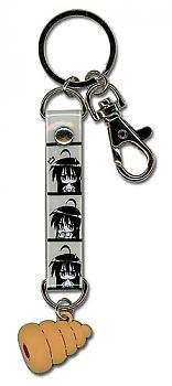 Lucky Star Key Chain - Chocolate Cone