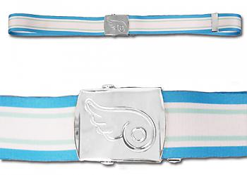Heaven's Lost Property Fabric Belt - Wing Symbol