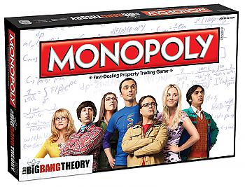 Big Bang Theory Board Games - Monopoly Collector's Edition