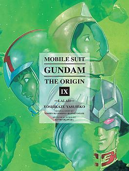 Mobile Suit The Origin Manga Vol.  9 Gundam - Lalah