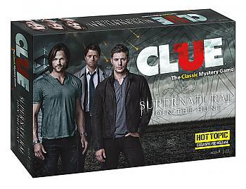 Supernatural Board Games - Clue Collector's Edition