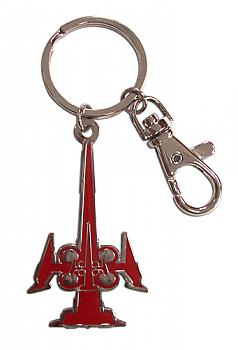 Trinity Blood Key Chain - Metal Ax Iron Maiden Icon