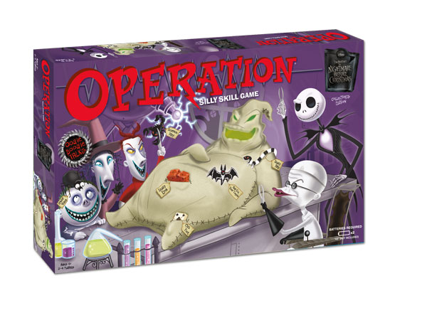 Nightmare Before Christmas Board Games - Operations Collector's ...