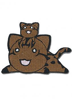 Azumanga Daioh Patch - Cats (Brown)