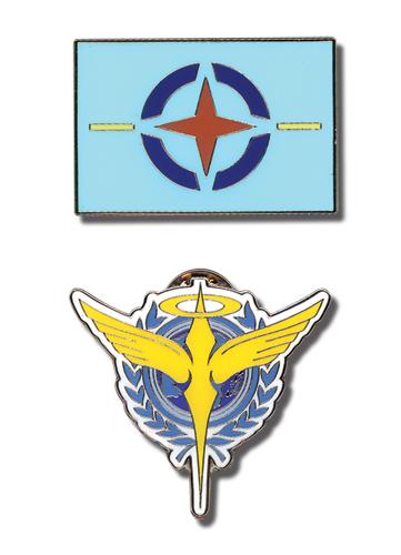 gundam 00 pins celestial being and aeu symbols set of 2 archonia us rh archonia us celestial being logo vector celestial being logo png