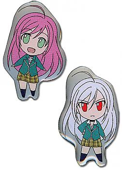 Rosario+Vampire Pins - Moka and Inner Moka (Set of 2)