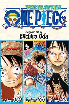 One Piece Omnibus Manga Vol.  12 Gold Rush (Vol. 34-35-36)
