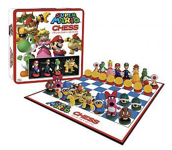 Nintendo Board Games - Chess Set Collector's Edition (Super Mario)