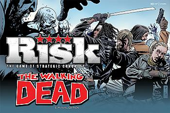 Walking Dead Board Games - Risk Collector's Edition