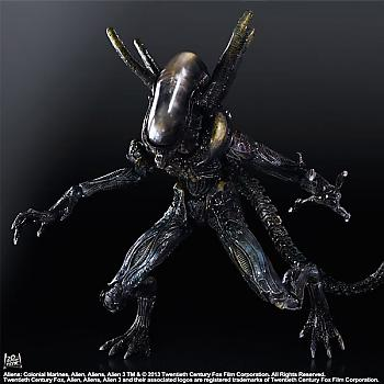 Aliens Colonial Marines Play Arts Kai Action Figure - Lurker