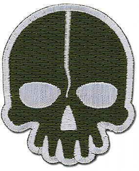 Black Rock Shooter Patch - Dead Master Skull