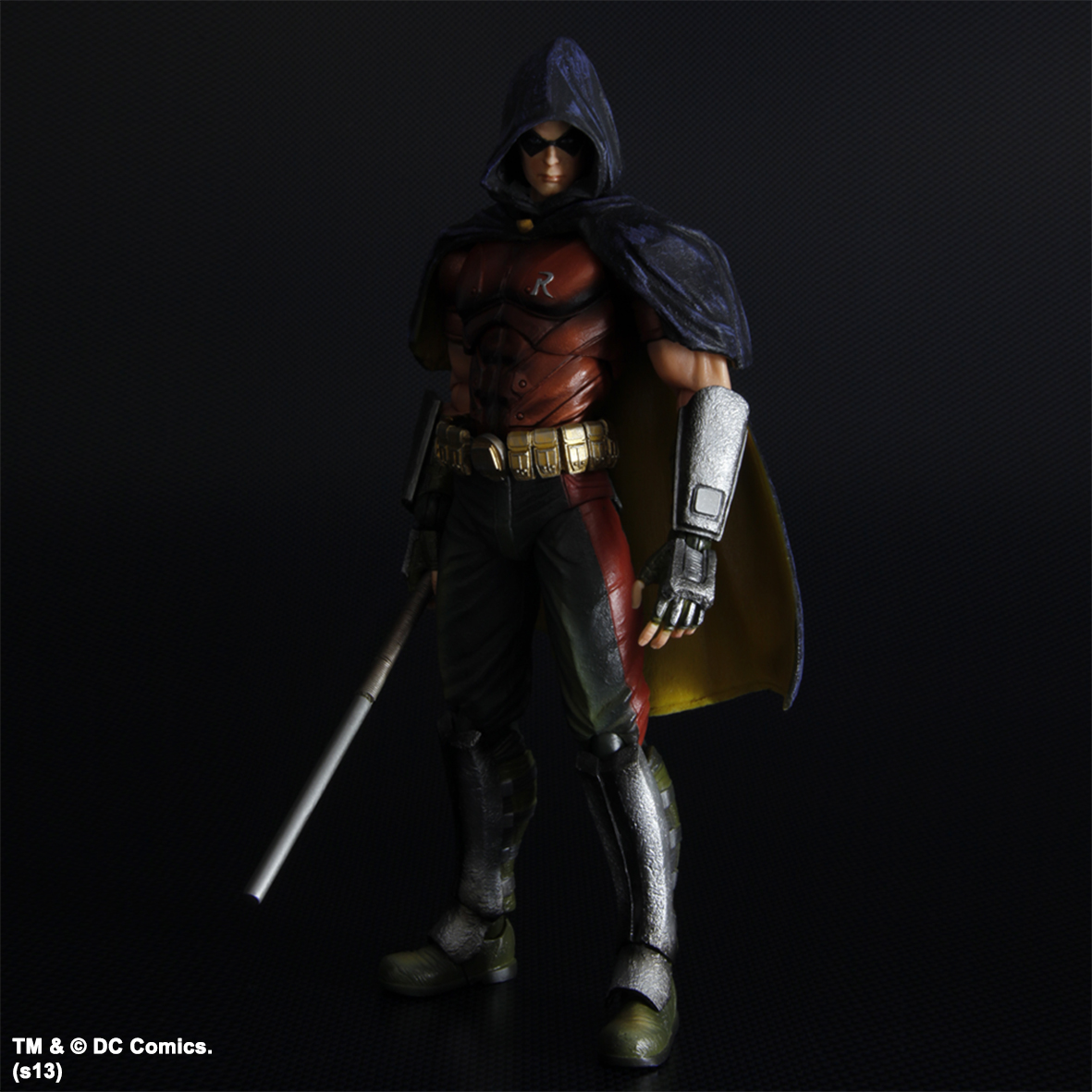 Arkham City Batman Play Arts Kai Action Figure - Robin ...