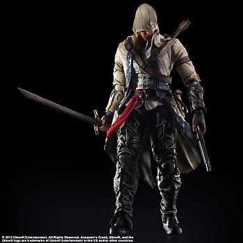 Assassin's Creed III Play Arts Kai Action Figure - Connor Kenway
