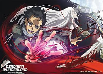 Deadman Wonderland Wall Scroll - Ganta & Shiro [LONG]