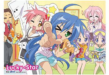 Lucky Star Wall Scroll - Girls Night [LONG]