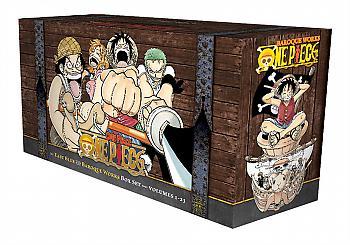 One piece Manga Box Set 1 Vol. 1-23 East Blue and Baroque Works