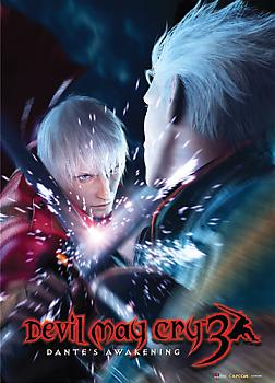 Devil May Cry 3 Wall Scroll - Dante Vs Vergil Brothers