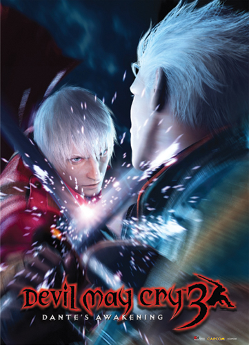 1579af402ce6 Devil May Cry 3 Wall Scroll - Dante Vs Vergil Brothers