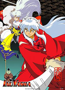 Inu Yasha Wall Scroll - Inu Yasha and Sesshomaru