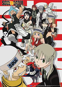 Soul Eater Wall Scroll - Group Out to Play