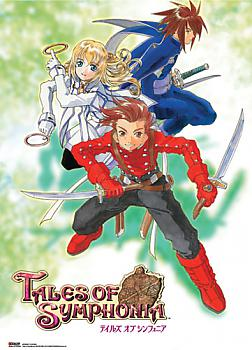 Tales Of Symphonia Wall Scroll - GameCube Cover Art 2