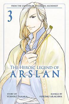 Heroic Legend of Arslan Manga Vol.   3