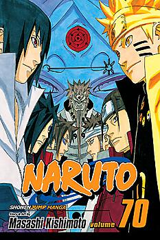Naruto Manga Vol.  70: The Start of a Crimson Spring