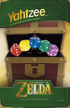 Zelda Board Games - Yahtzee Collector's Edition