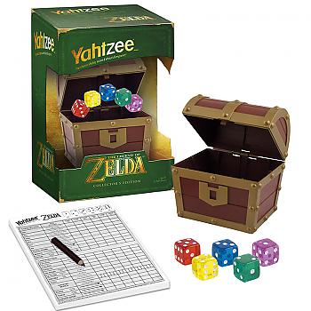 Zelda Board Games - Yahtzee Collector's Edition