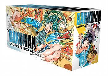 Bakuman. Manga Vol. 1-20 Complete Box Set with Premium
