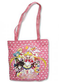 Sailor Moon Tote Bag - Pink Group