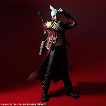 Devil May Cry 3 Play Arts Kai Action Figure - Dante