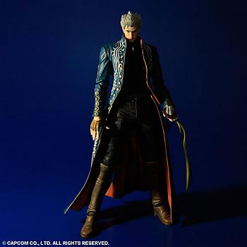 Devil May Cry 3 Play Arts Kai Action Figure - Vergil