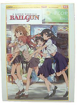 Certain Scientific Railgun Puzzle - Girls Walking (1000pcs)