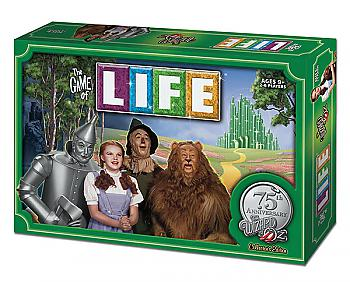 Wizard of Oz Board Games - Game of Life Collector's Edition