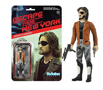 Escape from New York ReAction 3 3/4'' Retro Action Figure - Snake Plissken with Jacket