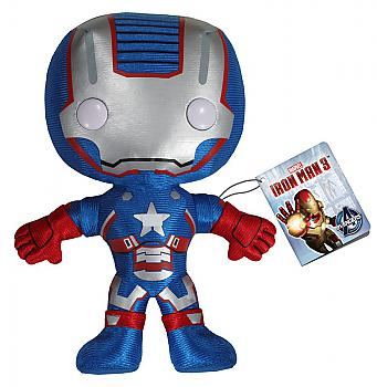 Iron Man 3 Movie Plushie - Iron Patriot