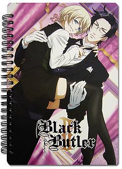Black Butler 2 Notebook - Sebastian and Ciel