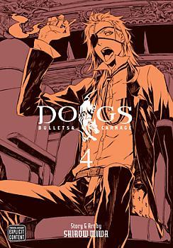 Dogs Manga Vol.   4: Bullets & Carnage