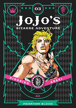 JoJo's Bizarre Adventure Part 1 Phantom Blood Manga Vol.   3