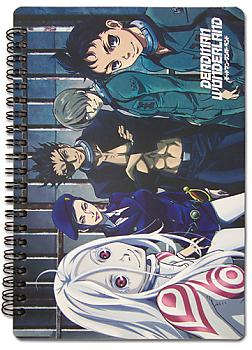Deadman Wonderland Notebook - Group
