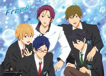 Free! Wall Scroll - Boys Uniform [LONG]