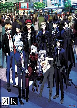 K Project Wall Scroll - Group