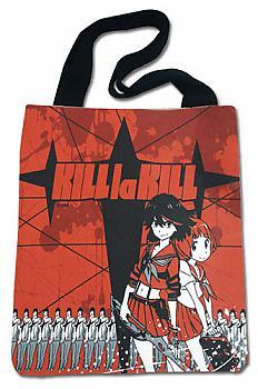 KILL la KILL Tote Bag - Ryuko & Mako Red