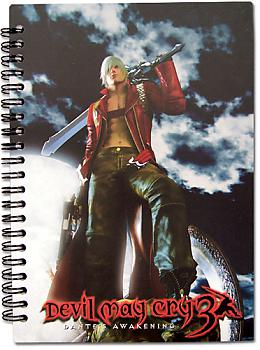 Devil May Cry 3 Notebook - Dante Key Art