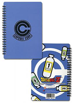 Dragon Ball Z Notebook - Capsule Corp